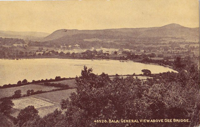 Vintage postcard of Bala, Dee Bridge, Gwynedd, Wales