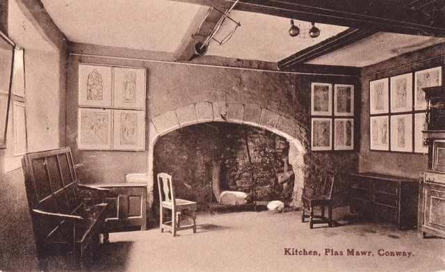 Kitchen, Plas Mawr, Conway (Conwy North Wales)