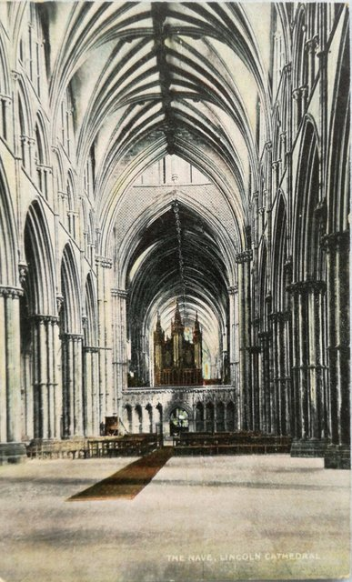 The Nave, Lincoln Cathedral.