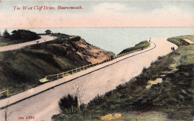 The West Cliff Drive, Bournemouth, Dorset