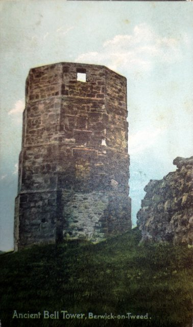 Vintage postcard of the Ancient Bell Tower, Berwick-on-Tweed