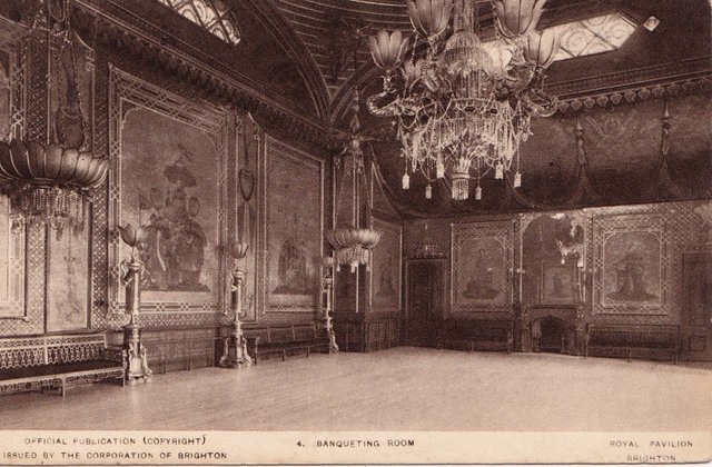Banqueting Room, Royal Pavilians, Brighton