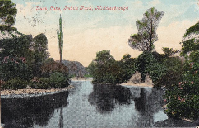 Duke Lake, Public Park, Middlesbrough