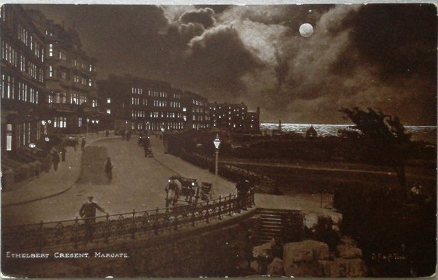Ethelbert Crescent, Margate, kent, old picture