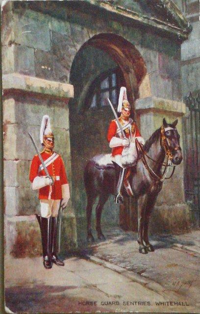 Horse Guard Sentries