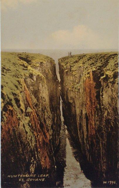 Huntman's Leap, St Govans, Pembrokeshire, Wales
