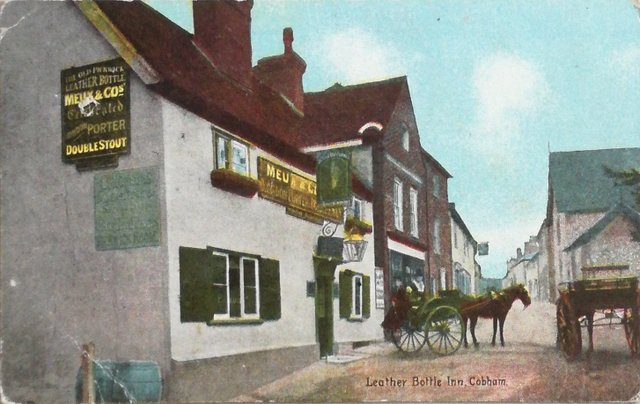 The Leather Bottle Inn, Cobham (nr Gravesend Kent)