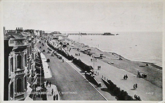 Marine Parade looking East, Worthing