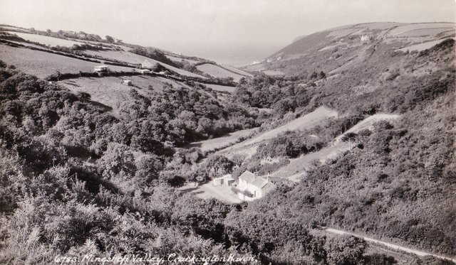 Mineshaft Valley, Crackington Haven, Cornwall