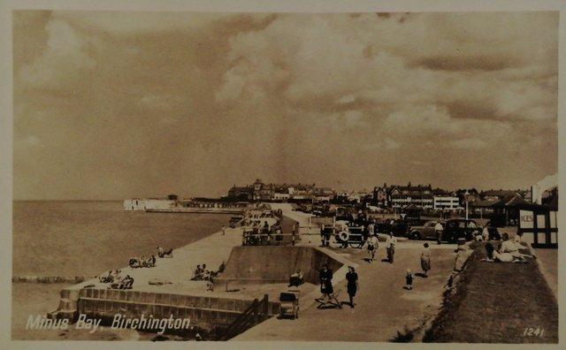 Birchington, Kent, vintage postcard