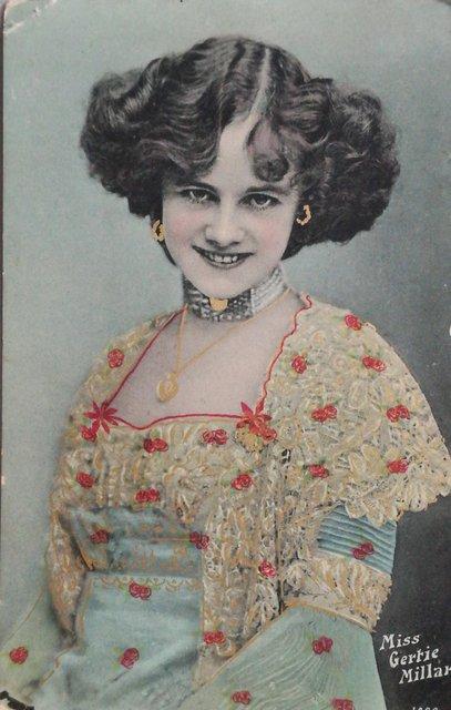 Postcard of Gertie Millar