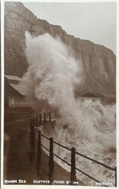 Rough Seas at Hastings