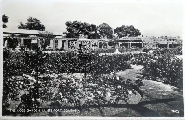 The Rose Garden, Lumps Fort, Southsea, Hampshire